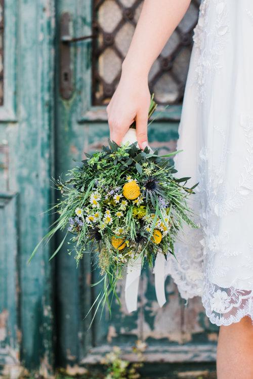 matrimonio vintage bouquet