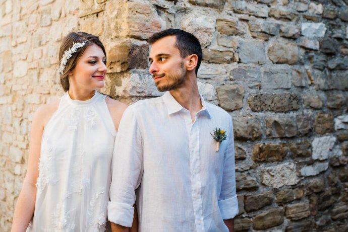 Matrimonio vintage: gli sposi