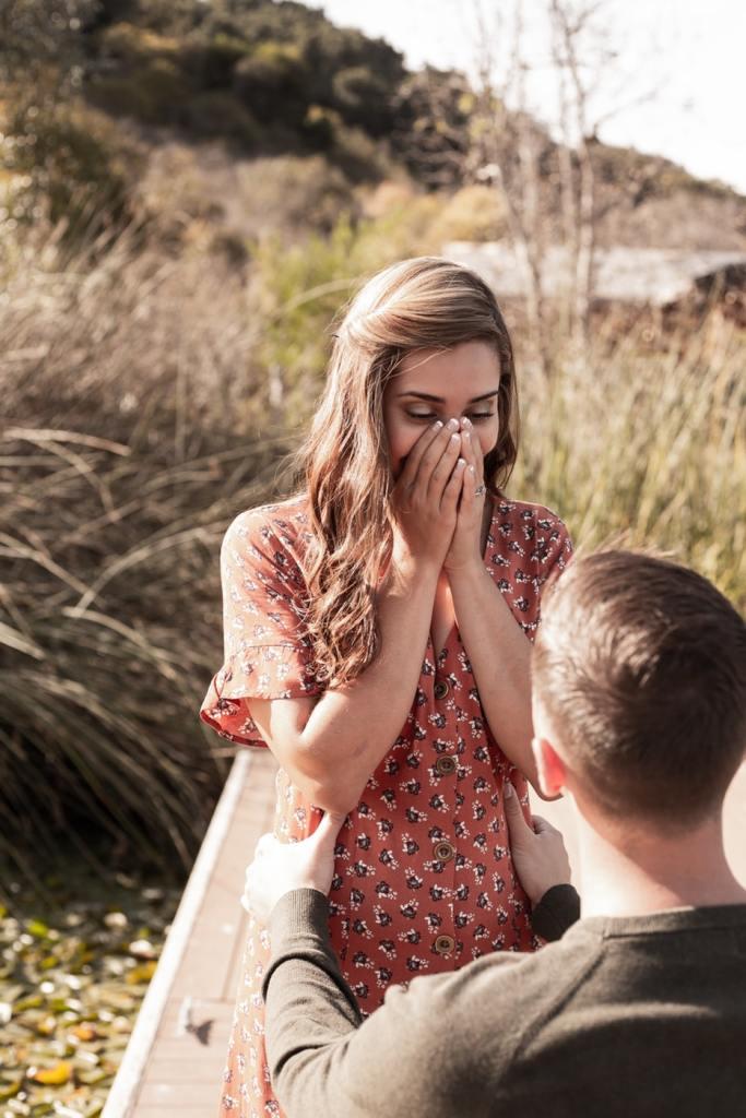 L'amore che si dà il servizio per fare la proposta di matrimonio