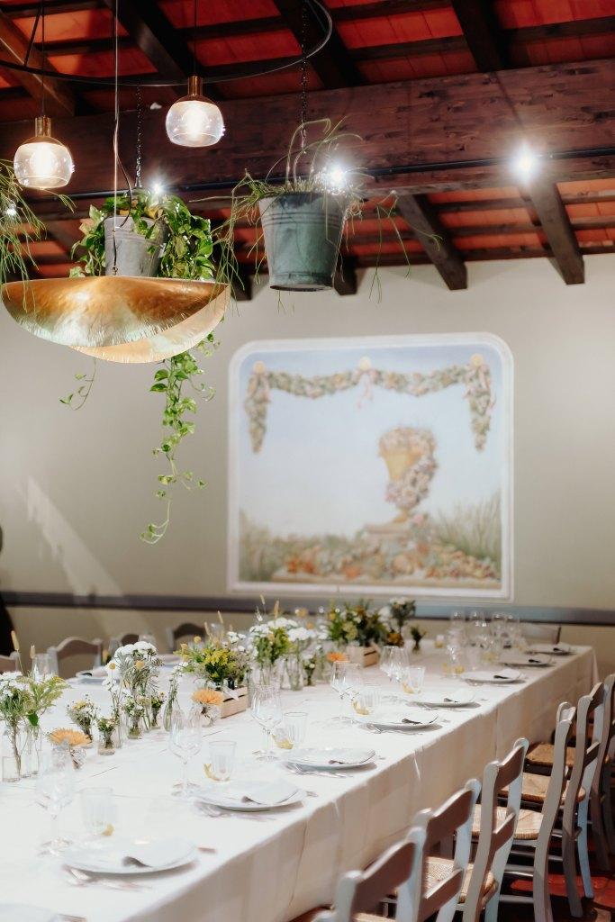 Tavolo giallo La Casa Gialla, Le Petit O e Fiorigrafia