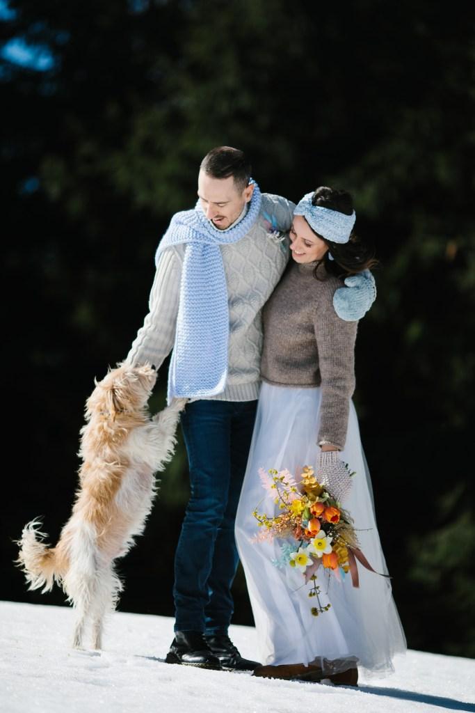 micro-wedding ispirazione - la coppia