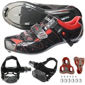 Chaussures, pédales et cales de cyclisme