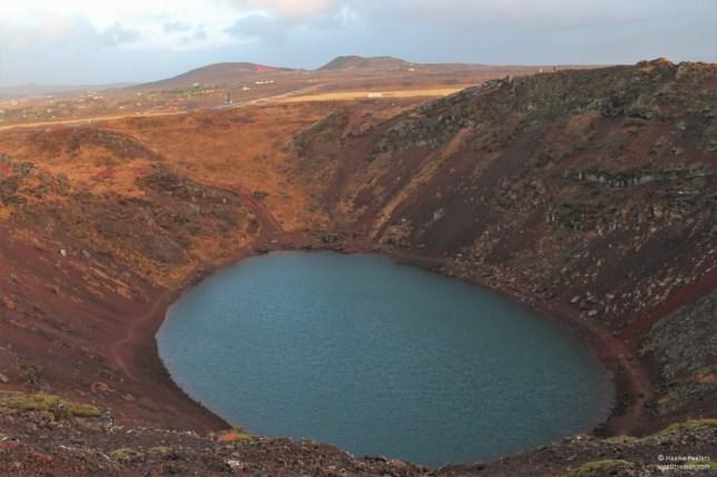 Kerid-krater (Le petit requin)