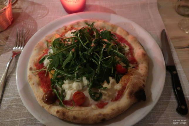 Pizza rucola (Le petit requin)