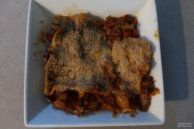 Vegetarische lasagne (Le petit requin)
