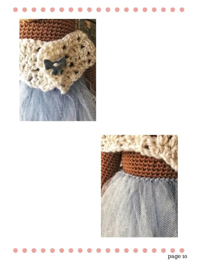 Teddy Bear Crochet Pattern - Princess Bernadette (9)