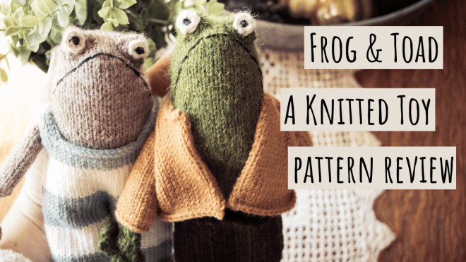 Frog and Toad Knitted Toy Pattern