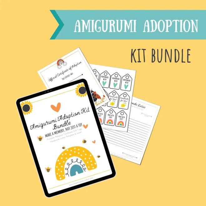 Amigurumi Adoption Kit Bundle