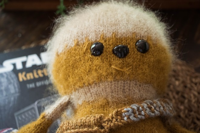 Knitted Toy Chewbacca