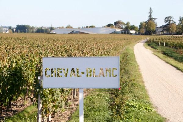© Gerard UferasChateau Cheval Blanc septembre 2011
