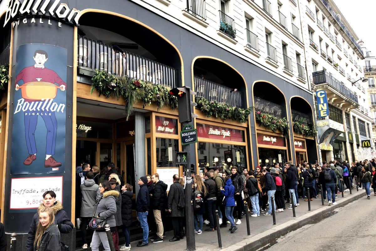 巴黎式茶餐廳