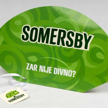 "Promo lepeze ""SOMERSBY"""