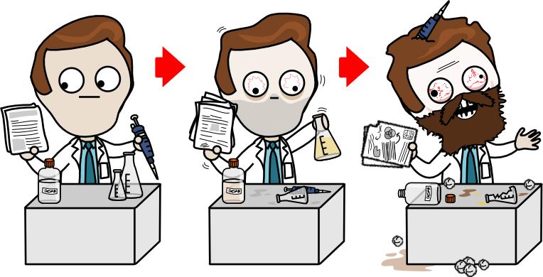 science pathologique chercheur