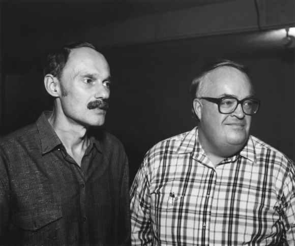 © Alec Soth : deux hommes debout