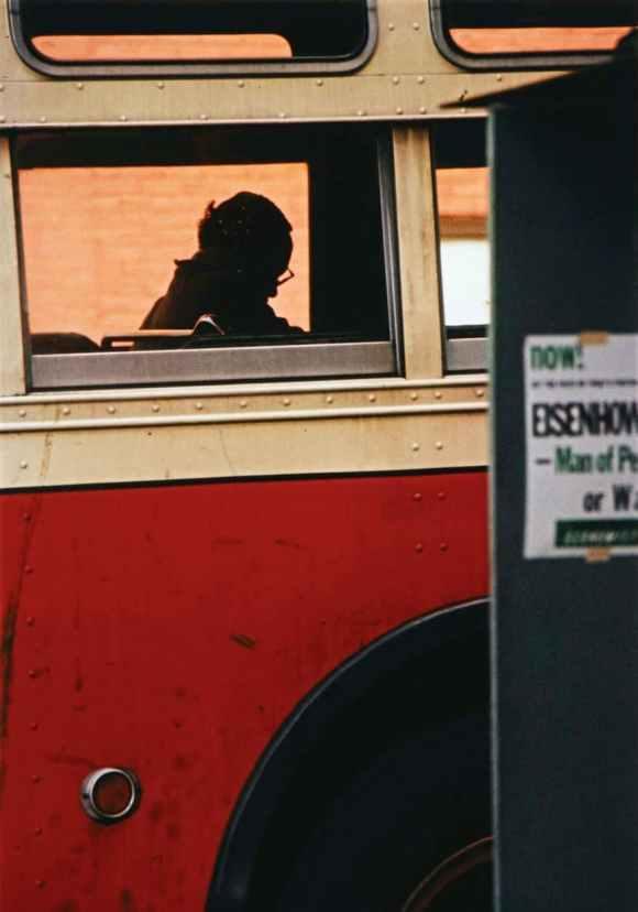 Saul Leiter - Bus, New York - 1954
