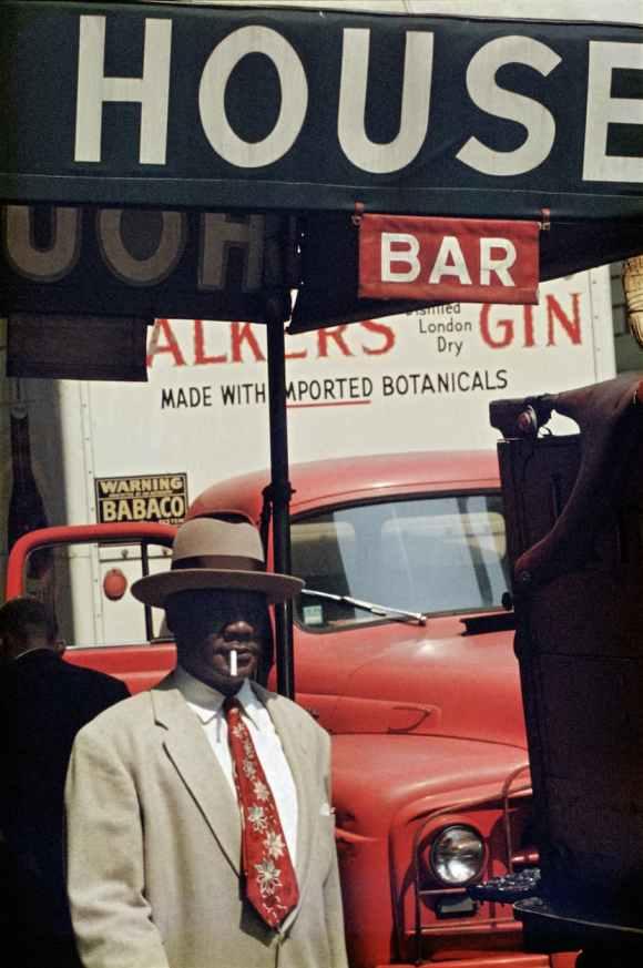 Saul Leiter - Harlem - 1960