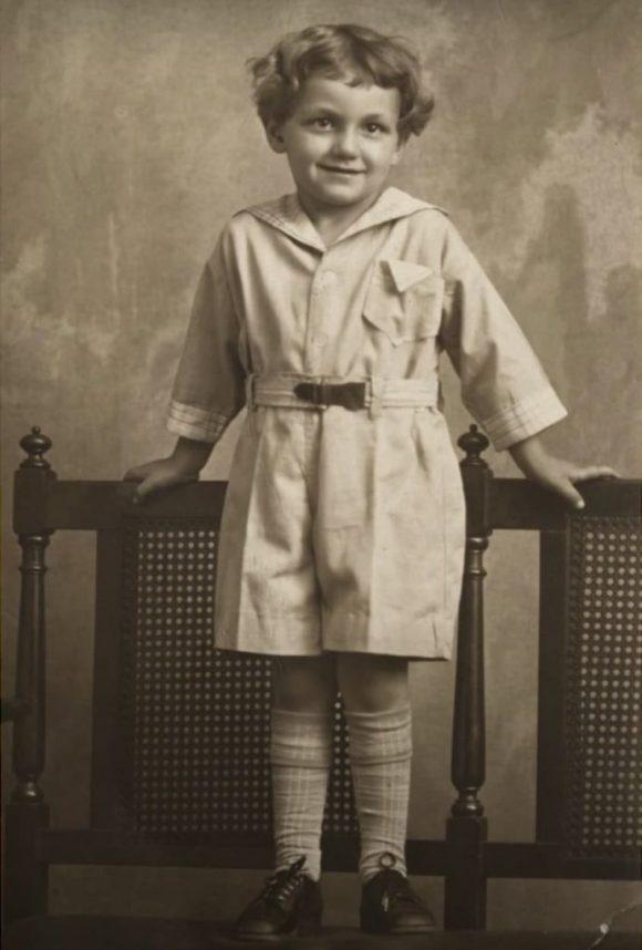 Saul Leiter enfant