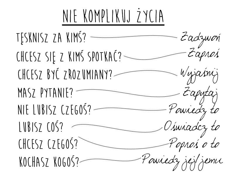 Nie komplikuj życia