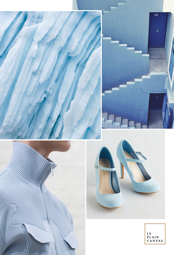 Mood Board | Ice Blue