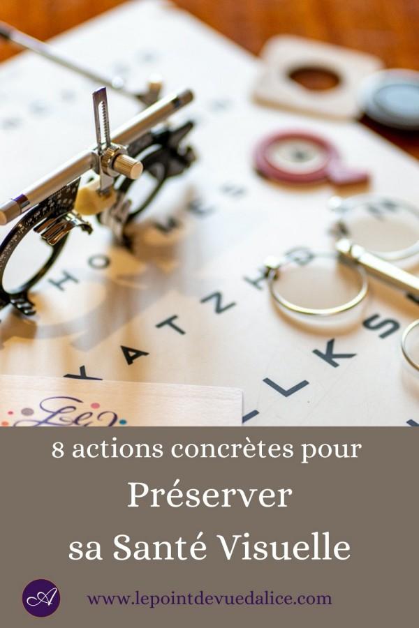 8 conseils pour préserver sa santé visuelle
