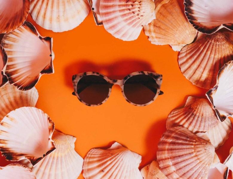 Friendly Frenchy, les lunettes de soleil en coquillage