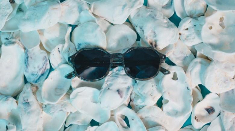 Des lunettes de Soleil Matières naturelles recyclées