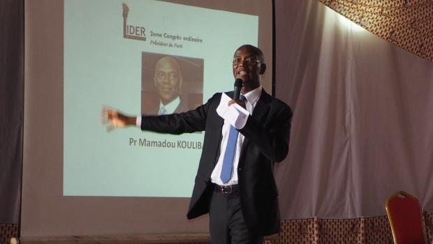 le président de la Liberté et Démocratie pour la République (Lider), le prof.  Mamadou  Koulibaly