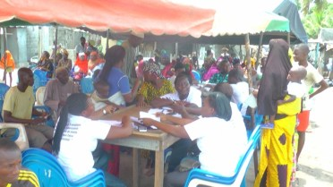 Les populations ont répondu nombreuses à l'appel du Pnlt.