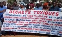 Victimes des déchets toxiques/ Le Renadvidet-Ci suspend le sit-in prévu mercredi 11 novembre 2015 #civ