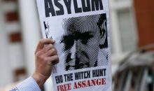 L'Elysée rejette la demande d'asile de Julian Assange