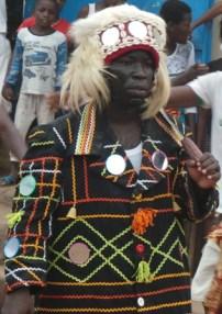 Gbadjro Hilarion dit ''Tonnerre'', le porte-étendard des Blessoué Agban