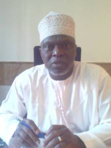 Le commissaire du hadj, Dr CISSE Losseni, annonce les vols retour des pèlerins ivoiriens à partir du mardi 29 septembre 2015.Ph.Dr