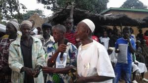 ont traduit leur reconnaissance à M. Sidya Touré.Ph.Dr