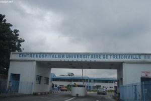 L'entrée du Chu de Treichville