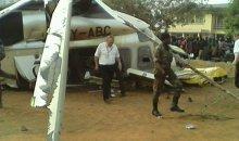 Benin/ Le PM du Bénin Lionel Zinsou sort indemne du crash d'un hélico #Benin