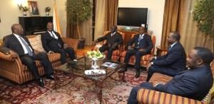 En marge du 26e sommet des chefs de l'Etat de l'UA, le Président ivoirien a accordé une audience à son homologue burkinabé à la tête d'une forte délégation.