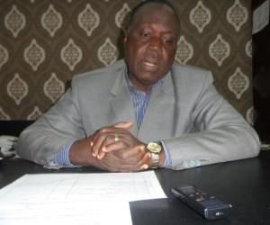 Le Doyen de l'UFR Sciences pharmaceutiques, Prof Atindehou Eugène