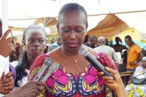 Chantal Fanny, le Maire de la commune de Kaniasso a exhorté ses sœurs élues à l'union.