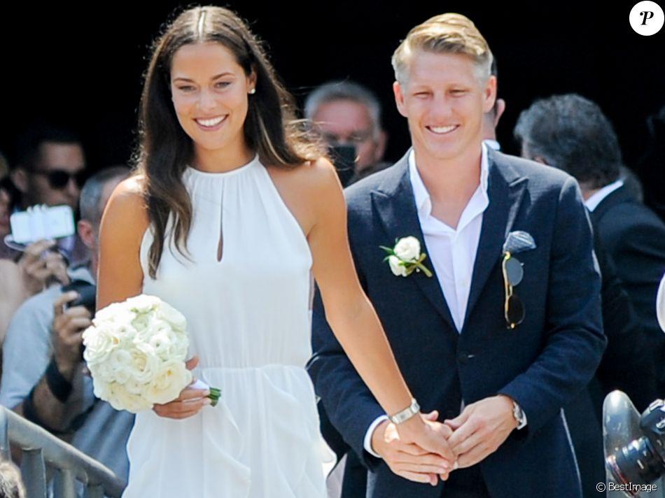 Photos : Ana Ivanovic et Bastian Schweinsteiger : un mariage de conte de fée !