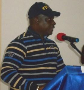 Sylla Soualiho Kader, le maire de la commune de Tiassalé. (Ph: Le Point Sur)