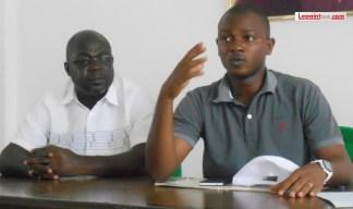 Tchel-Bi Lahoré Ghislain, le coordonnateur général de la plateforme Œuvrons pour le Plateau exhorte les jeunes de la commune à s'inscrire sur la liste électorale. (Ph: Le Point Sur)