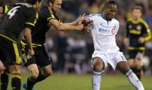Drogba exclu pour avoir donné un coup de genou à un adversaire