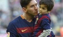 Espagne/A 3 ans, le fils de Messi signe au Barça