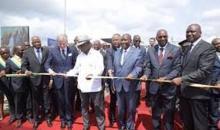 Infrastructures : les travaux de bitumage de la route Boundiali – Tengrela – Frontière Mali, inaugurés par le président Ouattara