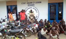 Bouaké / Fin  de l'opération »Reprise en main de la ville de Bouaké» 24 interpellations dont 12 élèves et des femmes