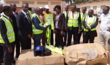 Sécurité et transport routier : Les conducteurs de mototaxis sensibilisés au code de la route #Korhogo