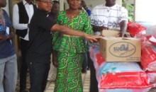 Bouaké : la municipalité fait don de vivres d'une valeur de 5 millions FCFA à la  communautés chrétienne