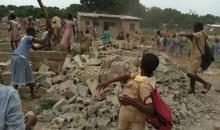 Bouaké/Litige foncier : Des élèves démolissent des maisons