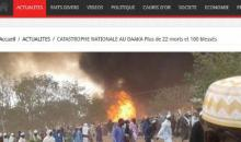 Sénégal oriental: un  incendie fait 22 morts et 100 blessés