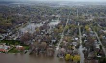 Inondations au Canada: le Québec les pieds dans l'eau